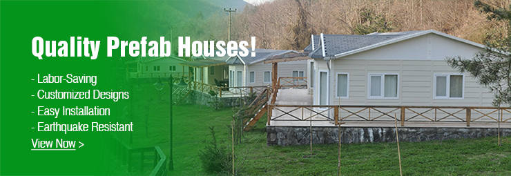 Buy Best Quality Prefab Houses with Customized Design and Easy Installation on OKorder.com