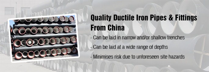 ductile iron pipes&fittings