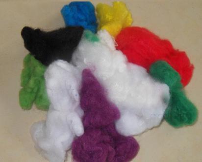 PET Staple Fiber for Nonwoven Fabric Different Color