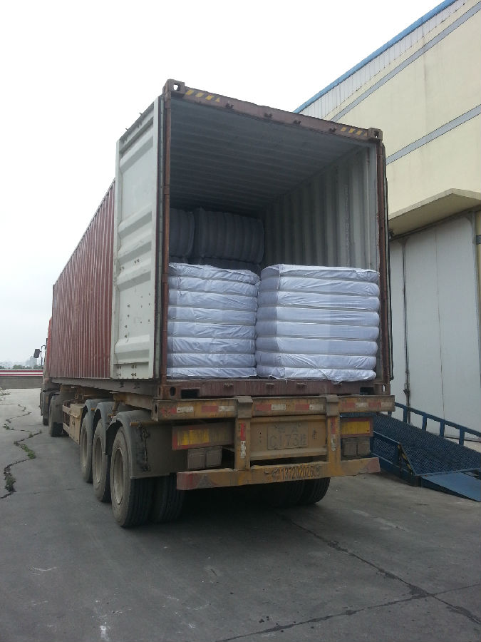 Hollow PET Saple Fiber for Geotextile or Filling Material
