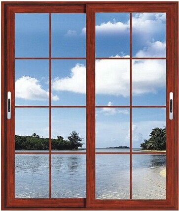 Buy Exterior Slide Type Aluminum Frame House Window Grill