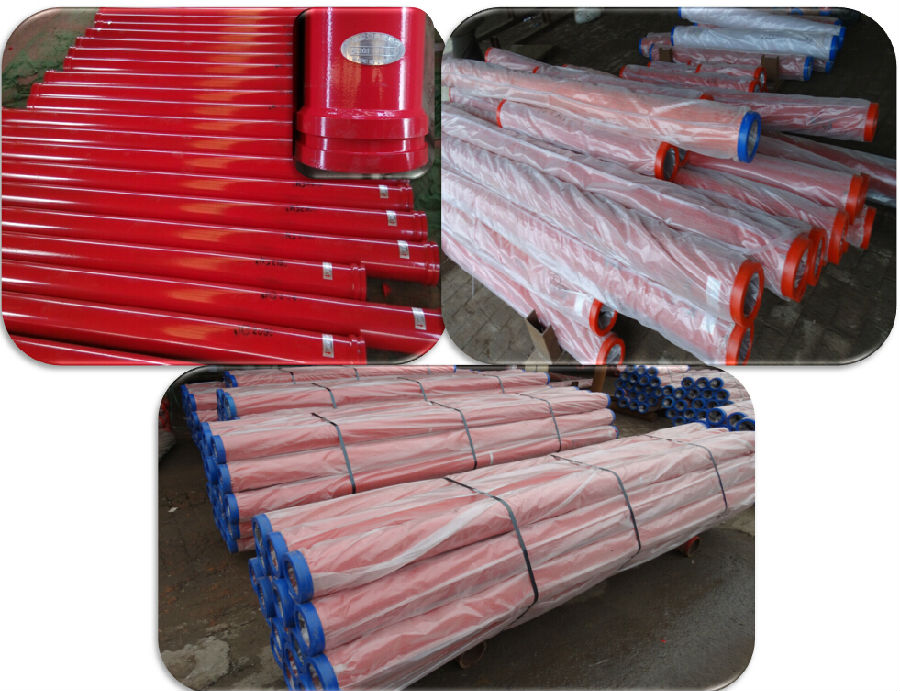 Concrete Pump Hardened Pipe DN125*4.6mm