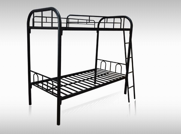 Iron Tube Bunk Bed for Students and Soldiers