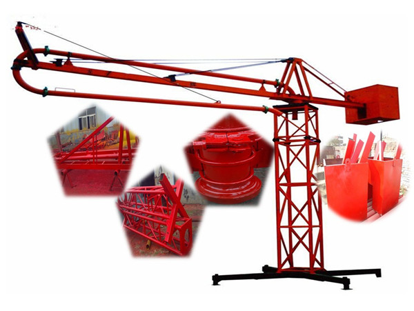 Durable Manual 12m 15m 18m Concrete Placing Boom