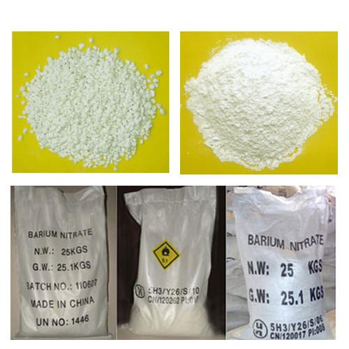Barium Nitrate Industrial Grade Construction Admxiture