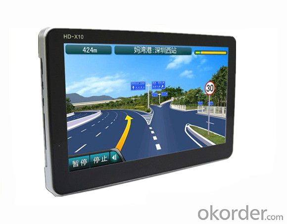 HD 7 inch 800x480 GPS navigation with SIRF V