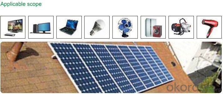Off grid Solar power system PR-SAS2000 with battery tank 1600W