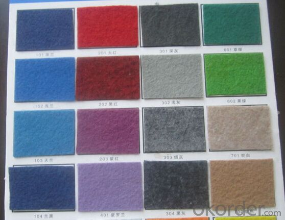 Polyester Fiber 100% Exhibition Carpet