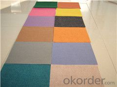 Non Woven Plain-Surface Outdoor Carpet Exhibition Carpet
