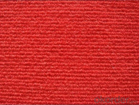 Non woven Ribbed Surface Exhibition Carpet