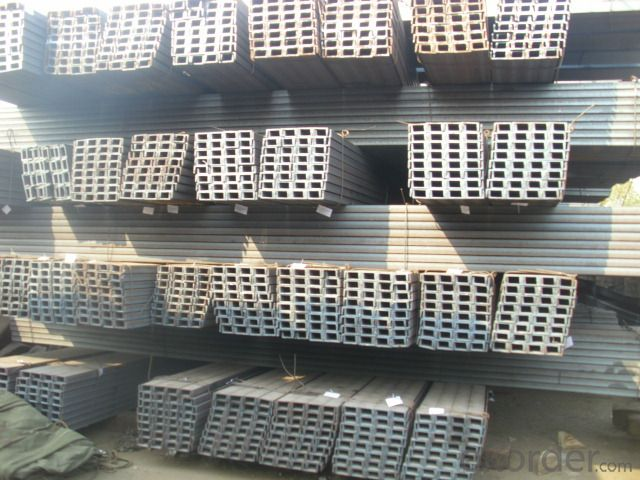 HOT ROLLED JIS STANDARD STEEL U-CHANNEL
