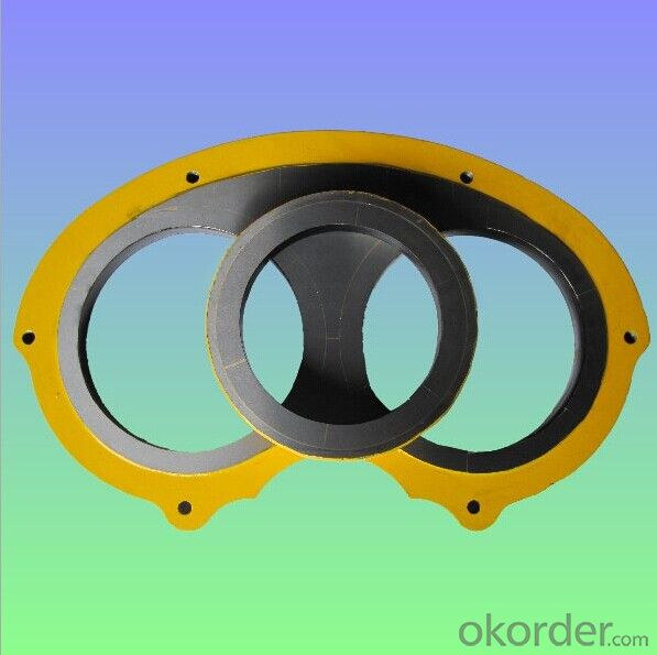 CARBIDE PM200 SPECTACLE PLATE AND WEAR RING