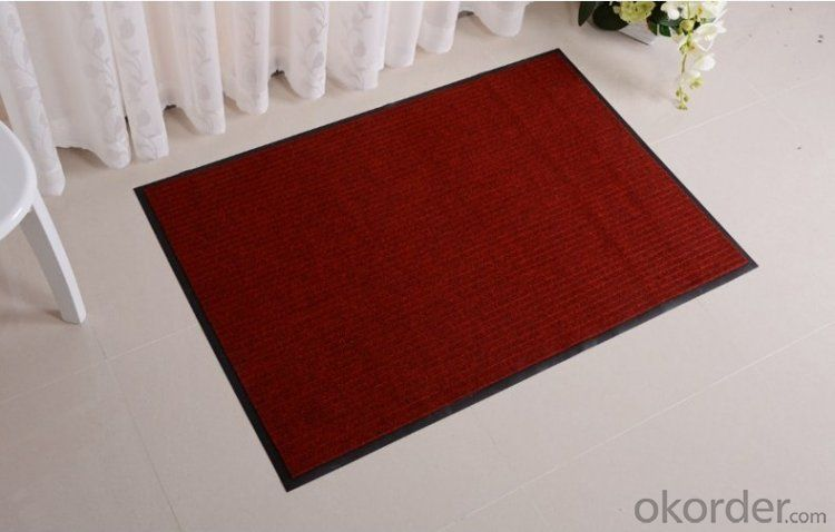 Polyester Double Ribbed Door Carpet and Mat