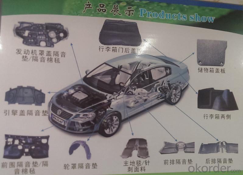 PP Staple Fiber for Automotive Interior Material