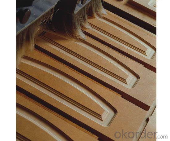 Plain High Density  MDF  Board for Slotting