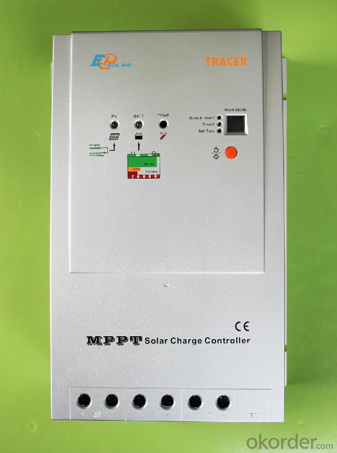 MPPT Solar Charge Controller for Photovoltaic System 40A, 12/24V Tracer-4210RN