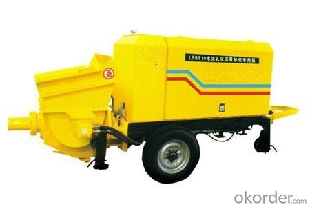Special Cement Emulsified Asphalt Mortar Pump