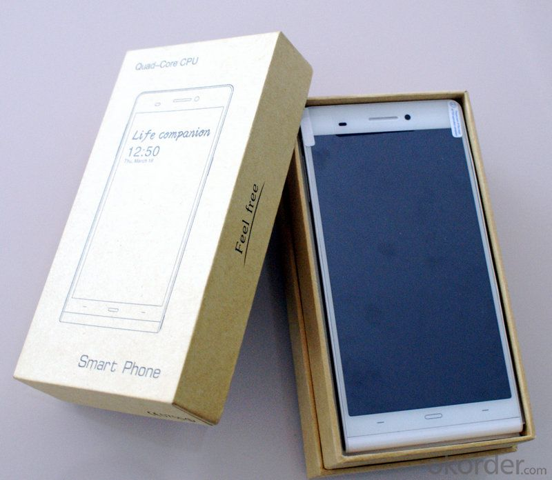 MTK6589T 1.5GHZ Quad core Ultra Slim 6 inch Android Smart phone