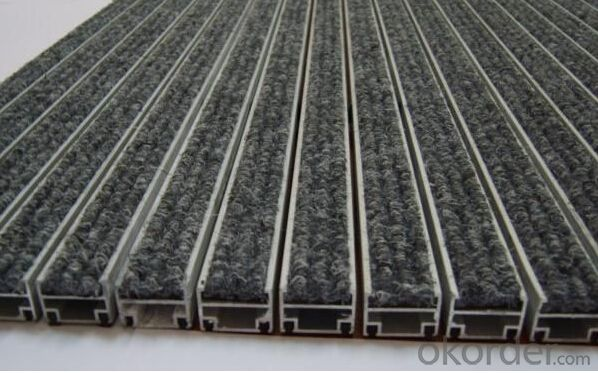 Buy Auminium Interlocking Matting With Aluminium Profile