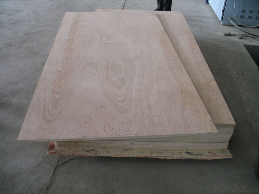 Buy okoume wood veneer face plywood thick board price size