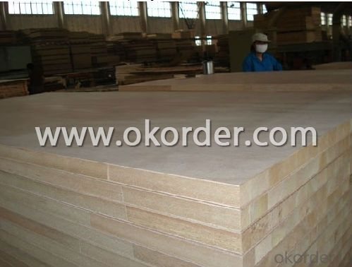 Okoume Wood Veneer Face block Board Falcata Core