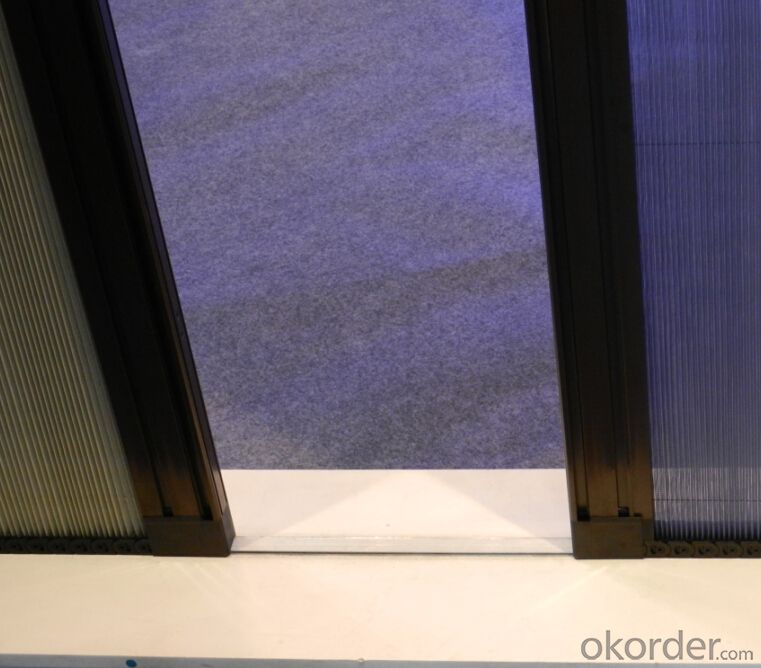 Double Open Trackless Screen Door