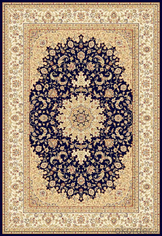 Latest Design Machine Woven Wilton Persian Carpet
