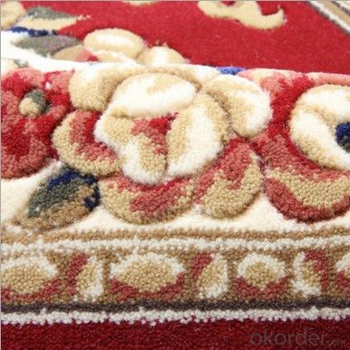 Wilton Machine Made Viscose Carpet PP Tufting Carpet