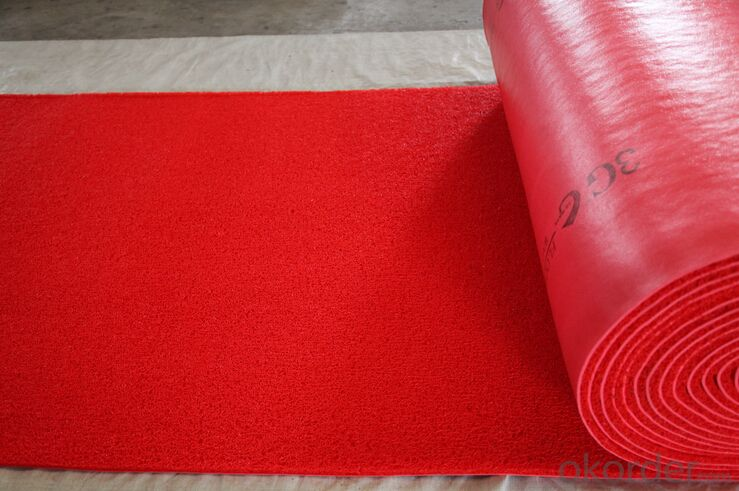 PVC Coil Carpet Roll Flooring Area Rug 3G Coil Mat PVC