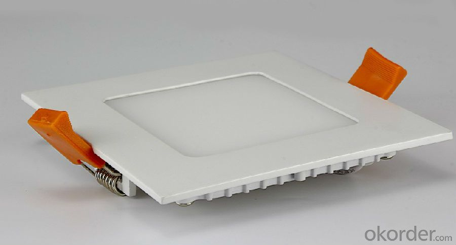 Led Panel Light 24W CRI 80 PF 0.5 Recessed Mount Square Shape