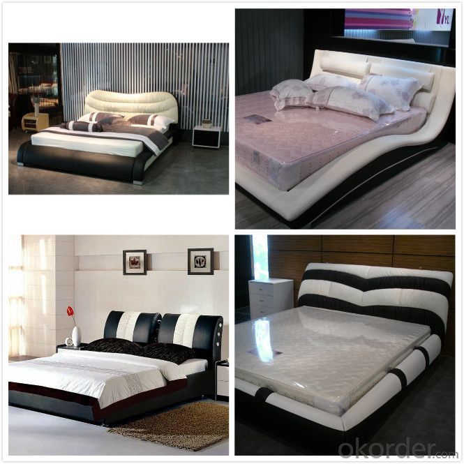 Modern Bedroom Leather Bed 2014 Type CMAX-A15