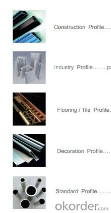 Alu Extrusion Profiles 6061
