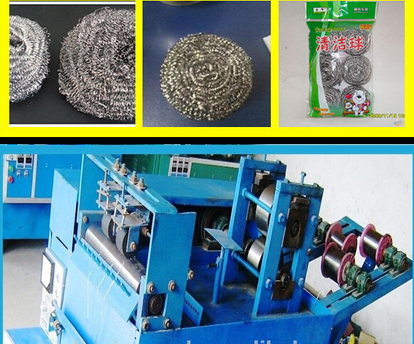 Automatic Scourer Making Machine Manufacturer with SGS CE ISO