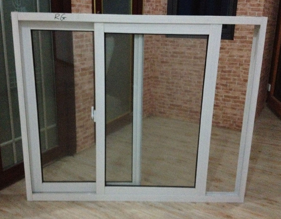 Aluminum Window and Door Factory double or Trial Glass
