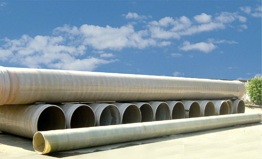 Buy light weight and high strength frp grp pipe dn> m