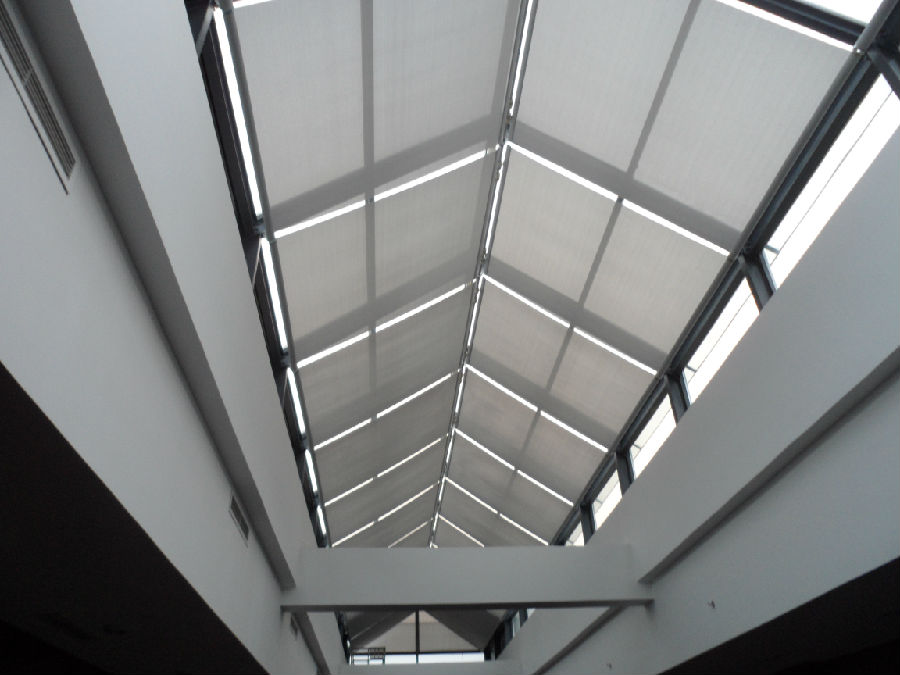 FSS Skylight Roof Blind for Sunshade Project