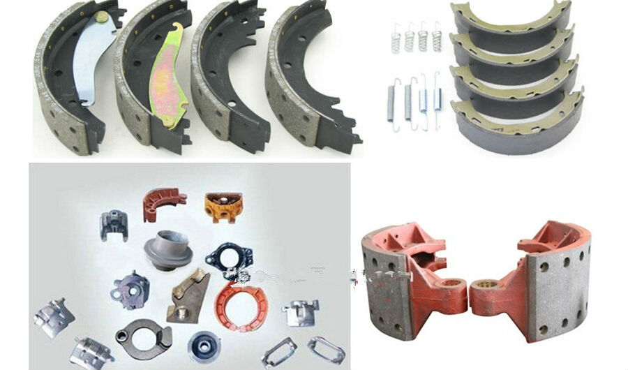 OEM  Brake Shoe Assembly 4515 E with CE Certification