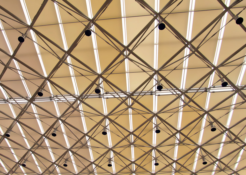 FTS Skylight Roof Blinds for Sunshade Project