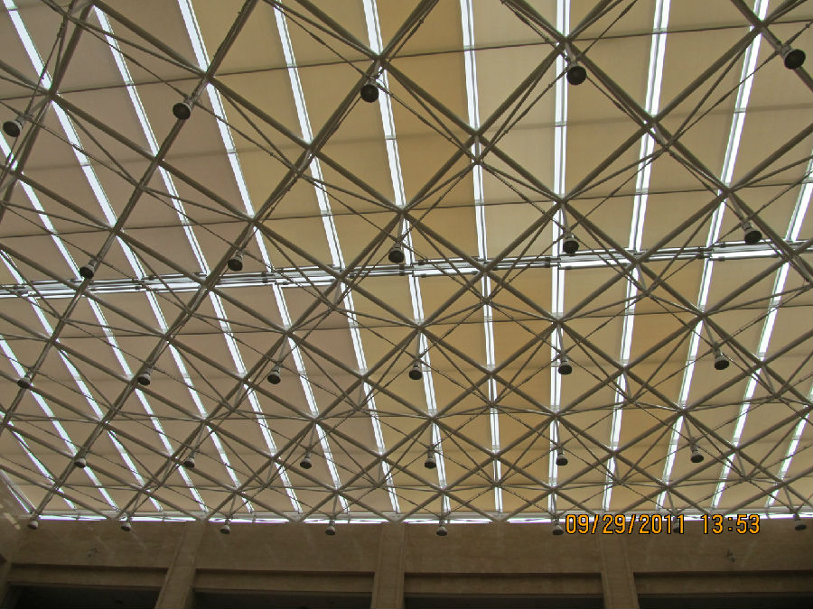 Ceiling Curtain System for Sunshade Project