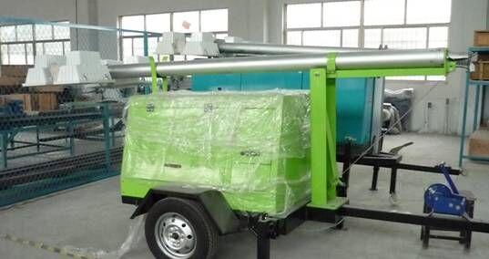 Cummins Engine  Diesel Generator with Light Tower Low-noise 25kva -2000kva