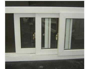 Pvc Sliding Window with Double Glass Soundproof and Low E glass