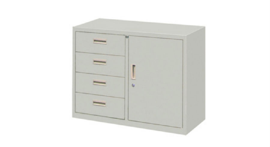 Metal Locker  Cabinet Office Furniture School  Double Door
