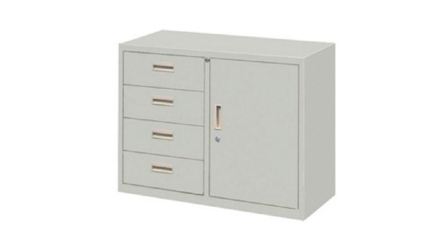 Locker Steel Cabinet Office Furniture School Double Door