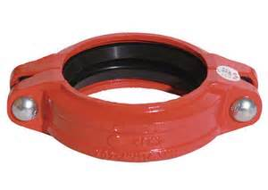 Ductile iron Grooved Fitting of Flexible Couplings Tees