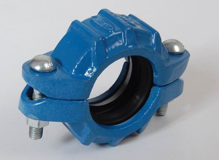 Ductile iron Grooved Fitting of Flexible Coupling Plugs