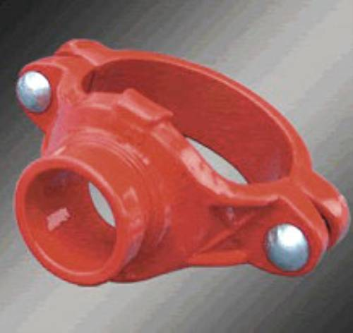 Ductile iron Grooved Fitting of Flexible Couplings Plugs Tee