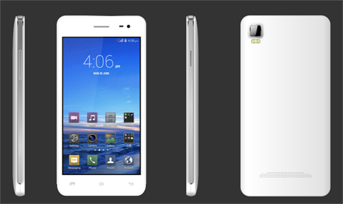 5.0 inch 3G HD Quad Core MTK6582 Android Smartphone