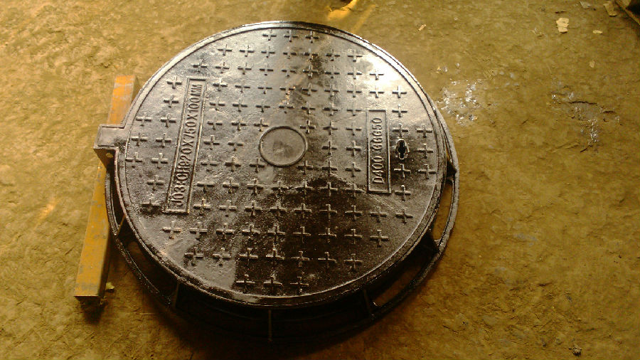 Ductile Iron Manhole Cover ΕΝ124 Made In China On Sale
