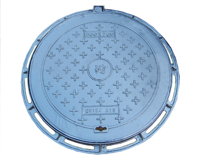 EN124 Ductile Iron Manhole Covers Made In China D400
