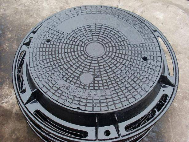 Ductile Iron Manhole Covers ΕΝ124 Made In China On Top Sale